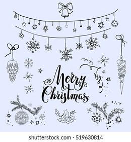 Merry Christmas sketch set