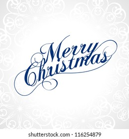 Merry Christmas. Vector.