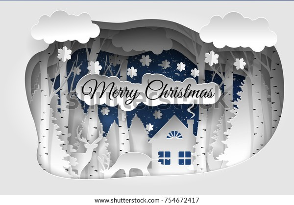 Merry Christmas Vector Design Happy New Stock Vector Royalty Free 754672417