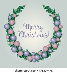 Merry Christmas - vector illustration eps10