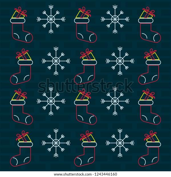 merry christmas wallpaper neon lights 600w 1243446160