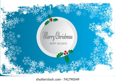 Merry christmass background