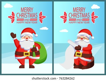 Large Santa Claus Wishing Coin Xmas Eve Box Stocking Elves Gift Father Christmas
