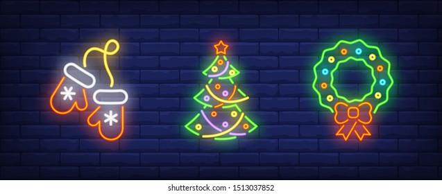 merry xmas neon sign set 260nw 1513037852