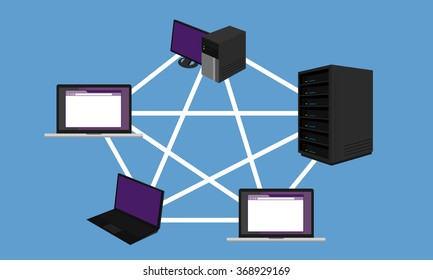 mesh network topology LAN design networking hardware connected