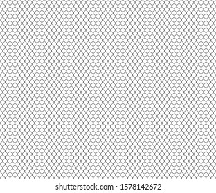 mesh polygons seamless background, white pattern, vector illustration