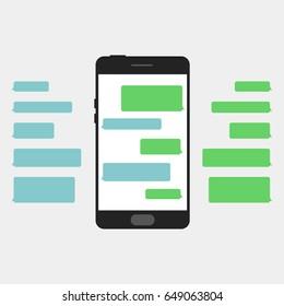 Message phone