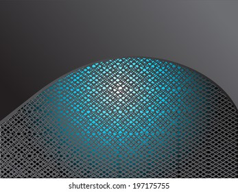 Metal abstract background - vector illustration