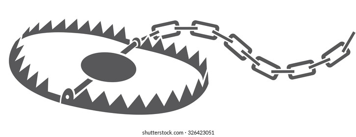 metal animal (hunting) trap
