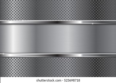 Silver Background Texture Stock Vectors Images Vector Art