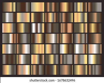 Metal bronze gradient big collection , luxury simple background