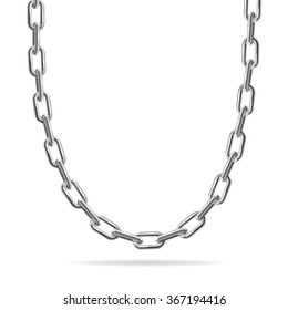 Silver Chain Images, Stock Photos & Vectors   Shutterstock
