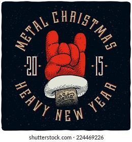 Heavy Metal Christmas.Heavy Metal Christmas Images Stock Photos Vectors