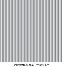 Metal corrugated texture seamless background vector illustration.