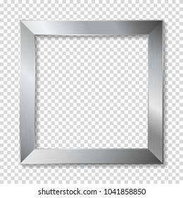 Metal frame, isolaterd.