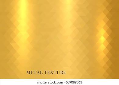Metal gold shiny texture.
