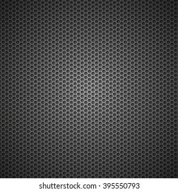 metal grid or grille background
