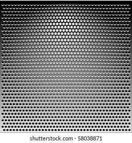 Metal Grill grey texture background illustration vector