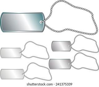 metal identity tag