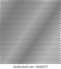 metal light background variation
