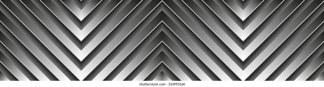 Metal linear background