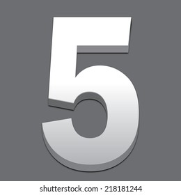 metal number
