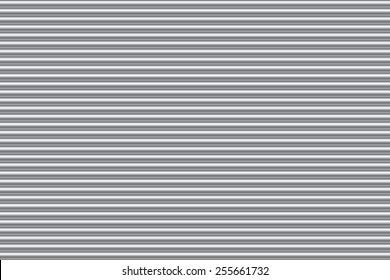 Metal roll up door strip lines texture background. Vector illustration for web design
