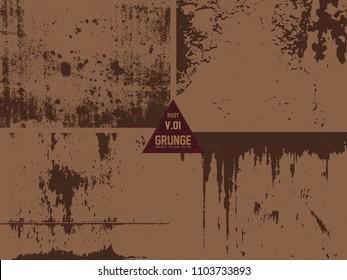 metal Rust Old Vector Textuer Grunge