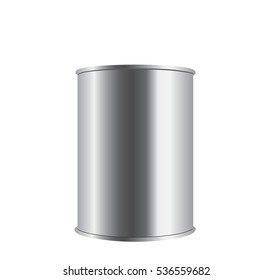 Metal tin can