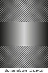 metallic background with copy space
