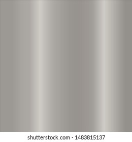 Metallic shiny steel surface texture design by vector gradient silver finish