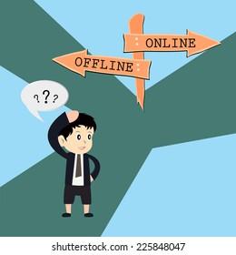 metaphor humour design , online vs offline