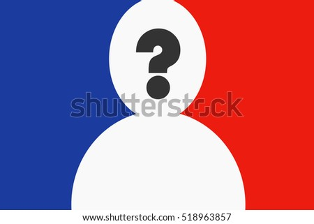 Metaphor Meaning Symbol Man Question Mark Stock Vector Royalty Free
