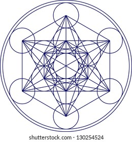 Metatrons Cube - Flower of life