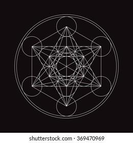 Metatrons Cube - Flower of life.