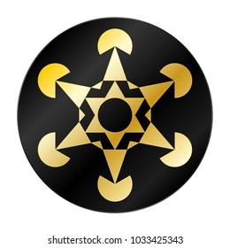Metatron's Cube Symbol