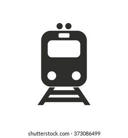 Metro  icon  on white background. Vector illustration.