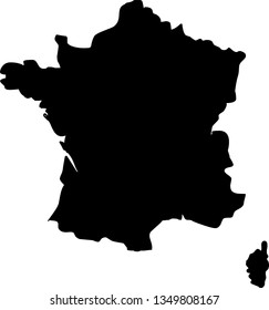 Metropolitan France Map