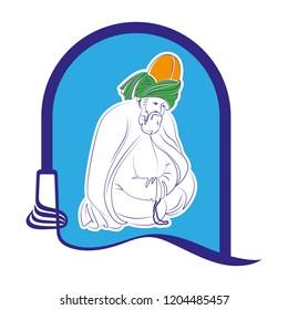 Mevlana Celaleddin Rumi is a symbol of tolerance and peace.