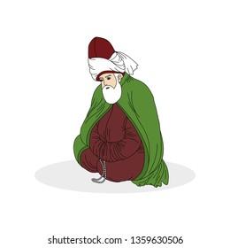 Mevlana, whirling dervish, Semazen, sufi, sufism, sufi dance, sufi whirling, dervis, ramadan, ramadan kareem, ramazan, islamic, muslim, dervis, dervishes