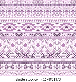 Mexican american indian pattern tribal ethnic motifs geometric seamless background. Impressive native american tribal motifs clothing fabric ethnic traditional design. Aztec symbol fabric print.