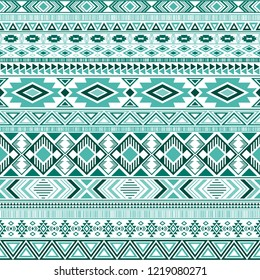 Mexican american indian pattern tribal ethnic motifs geometric seamless background. Graphic native american tribal motifs clothing fabric ethnic traditional design. Mayan clothes pattern design.