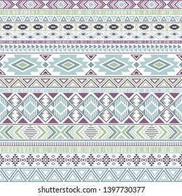 Mexican american indian pattern tribal ethnic motifs geometric vector background. Cute native american tribal motifs clothing fabric ethnic traditional design. Mayan clothes pattern design.