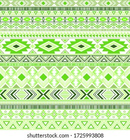 Mexican american indian pattern tribal ethnic motifs geometric seamless background. Impressive native american tribal motifs clothing fabric ethnic traditional design. Mayan clothes pattern design.