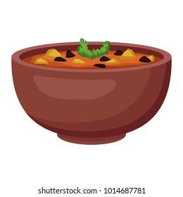 Mexican beans bowl