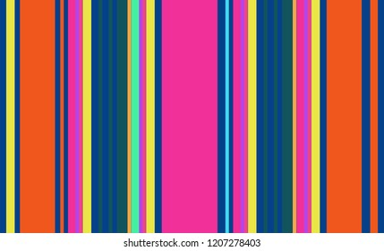 Mexican Colorful Multicolor Sarape, Pattern, Background