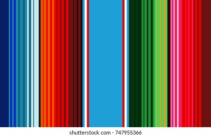Mexican Colorful Pattern