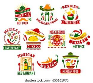 Logo Restaurante Mexicano Imagenes Fotos De Stock Y Vectores