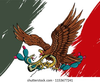 mexican eagle independence day
