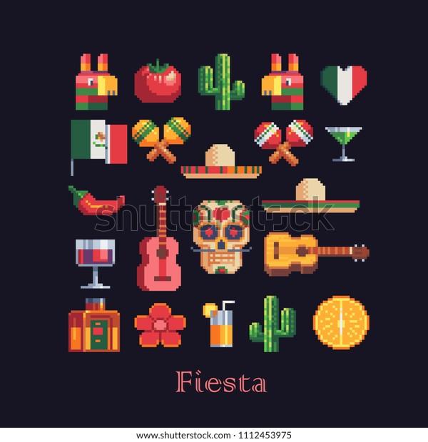 Image Vectorielle De Stock De La Fiesta Mexicaine Est Un